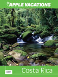 Apple Vacation online brochure for Costa Rica