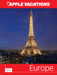 Apple Vacation online brochure for European vacations